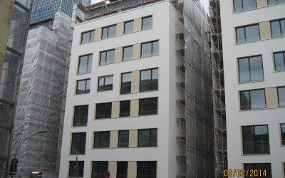 Neubau Wohnanlage im Frankfurter Westend