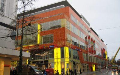 Luisenforum Wiesbaden – Einkaufszentrum, Bürohochhaus, Parkhaus