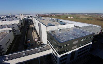 Audi- Werk Ingolstadt – Neubau Lackiererei