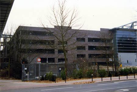 Parkhaus Messe Bremen