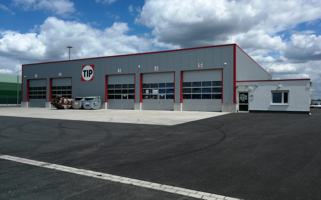 Neubau einer Trailerreparaturwerkstatt in Duisburg