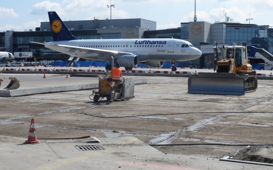 Sanierung AB-Hof bei Verkehrsflächen Fraport